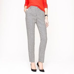J. Crew Collection Houndstooth Pants